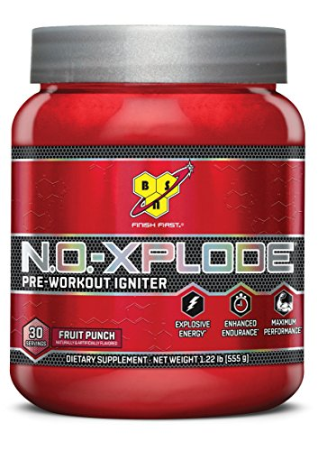BSN N O XPLODE Pre Workout Supplement Beta Alanine product image