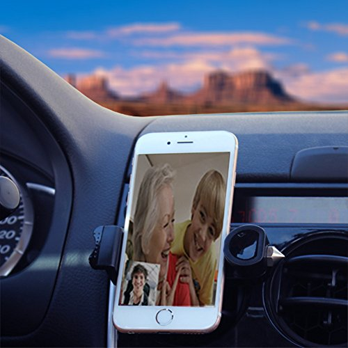 Car Phone Holder for Air Vent by NovCare, Novel Universal Po