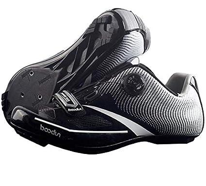 DUBAOBAO Zapatos de la Bici del Camino, Camino Que compite con los Zapatos automáticos de