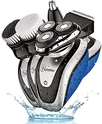 hatteker afeitadora eléctrica barbero para hombre cortadora para ...