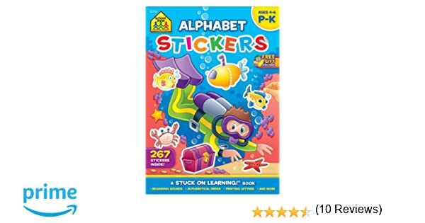 Alphabet Stickers Workbook (Stuck on Learning): Joan Hoffman ...