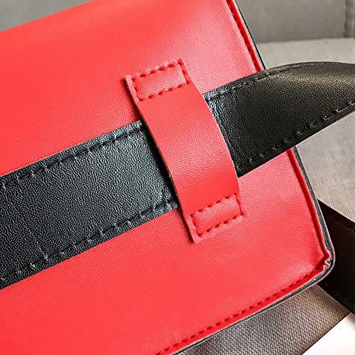 Borsa tracolla versatile donne fibbia a Wwddvh forma manico quadrata con rivestimento solido per a Borsa borsa con tracolla a di piccola morbido con le 3j45ARL