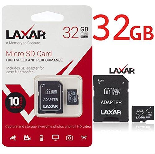 laxar Ultra 32gb MICRO SD TF tarjeta memoria TIPO 10 CON ...