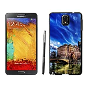 NEW Custom Diyed Diy For SamSung Galaxy S4 Mini Case Cover Phone With HDR Old City Buildings_Black Phone