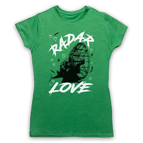 Golden Earring Radar Love Camiseta para Mujer Verde