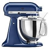 KitchenAid KSM150PSBW Artisan 5-Quart Stand Mixer, Blue Willow