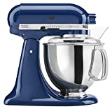 KitchenAid KSM150PSBW Artisan 5-Quart Stand Mixer, Blue Willow