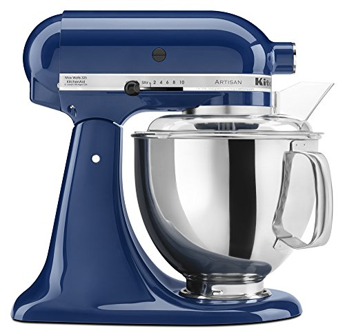 KitchenAid KSM150PSBW Artisan Series 5-Qt. Stand Mixer with Pouring Shield - Blue Willow ()