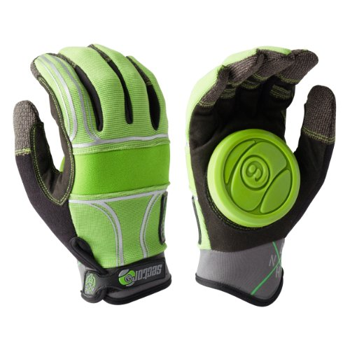 Sector 9 BHNC Slide Glove, Green, Large/X-Large