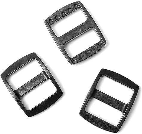 """3//8/"""" ~ 1-1//2/"""" webbing Curved Tri-Glide Slider Adjust Buckles Backpack Bag Strap"""