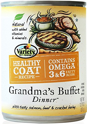 Homestyle Recipes Plus,  Grandma'S Buffet Dinner, 12/12.75-Ounce Cans, Natural Dog Food Review