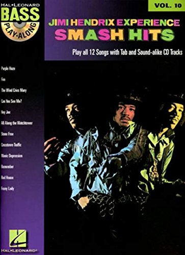 Bass Music Free String (Jimi Hendrix - Smash Hits: Bass Play-Along Volume 10)