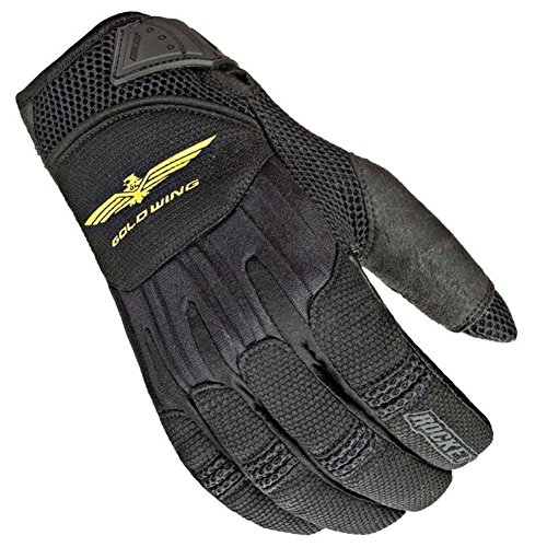 Joe Rocket Goldwing Skyline Men's Motorcycle Riding Gloves (Black/Black, X-Large)