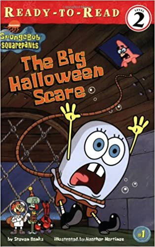 amazoncom the big halloween scare ready to read spongebob squarepants level 2 9780689841965 steven banks heather martinez books - Spongebob Halloween Game