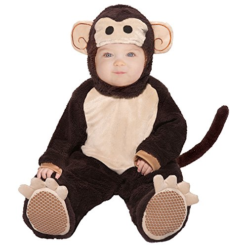 One Step Ahead Baby Monkey Halloween Costume, Size 6-12 Months