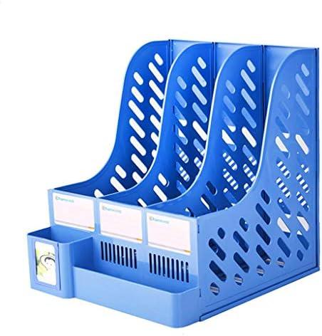 Ordner WDX - Aktenhalter Bürobedarf Bücherständer einfache Desktop Storage Box Storage Storage D