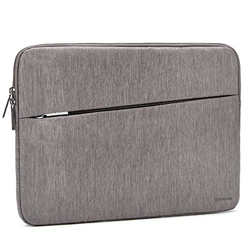 2017 Surface Book 2 13.5 Sleeve, Evecase Reinforced Shockproof Laptop Chromebook Bag Case with Accessory Pocket for Microsoft Surface Book 2 13.5inch PixelSense Display - Gray
