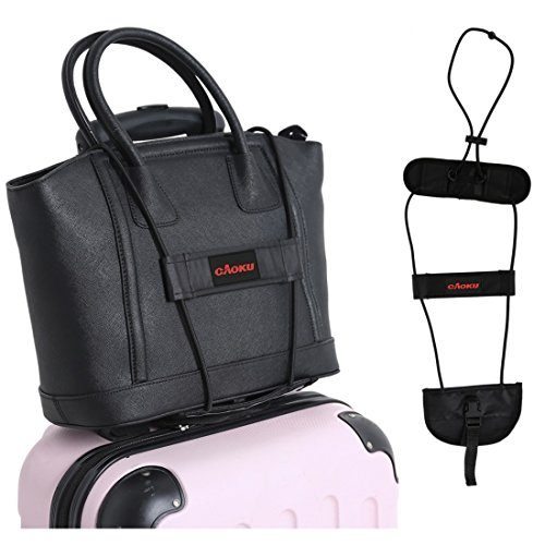 Bag Bungee Carrying On Luggage cAoku Adjustable Belt Add A Bag Strap Carry On Travel Luggage Suitcase With Elastic Strapping - Bag Add To