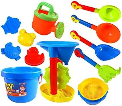 夏の楽しみ13ピースビーチ砂子供のおもちゃビーチツールプレイズ(色が異なる場合があります)A