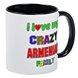 CafePress - I Love My Crazy Armenian Family Mug - Unique Coffee Mug, Coffee Cup