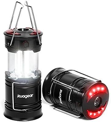 Amazon.com: KUAGEAR - Farol 3 en 1 para acampada (2 unidades ...