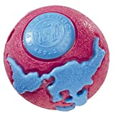 Planet Dog 022PDOG-12653 Large Orbee Tuff Orbo Ball with Treat Spot – Pink-Blue, My Pet Supplies