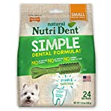 Nylabone Nutri Dent Original Edible Dental Chew, 24-Count, Small