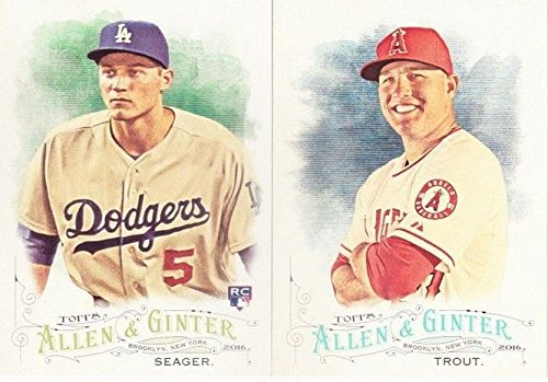 2016 Topps Allen and Ginter MLB Baseball Series Complete Mint 300 Card Set with Rookie Cards, Baseball Stars, Historical Figures and more! Allen Baseball
