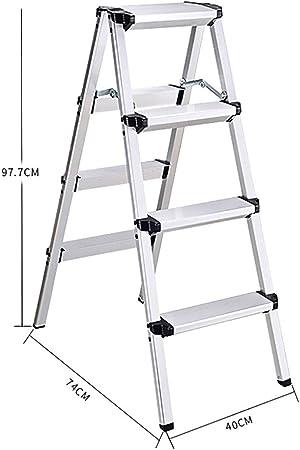 Escalera Telescópica Escalera telescópica Escalera plegable de aluminio Escaleras de elevación multifunción Escalera de ingeniería Espesar Escaleras de plegado Escalera de extensión para el hogar: Amazon.es: Hogar