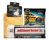CleanTools 10058 Absorber XL Car Detail Kit