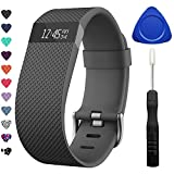 TreasureMax for Fitbit Charge HR Bands, Adjustable Replacement Accessories Straps for HR Charge Fitbit/Fitbit Charge HR