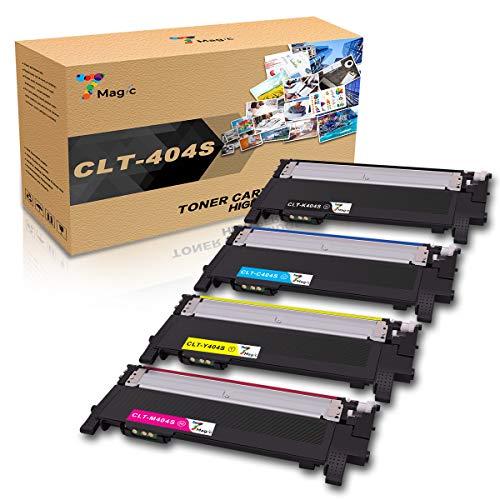 7Magic Compatible for Samsung 404S 404 Toner CLT-K404S CLT-C