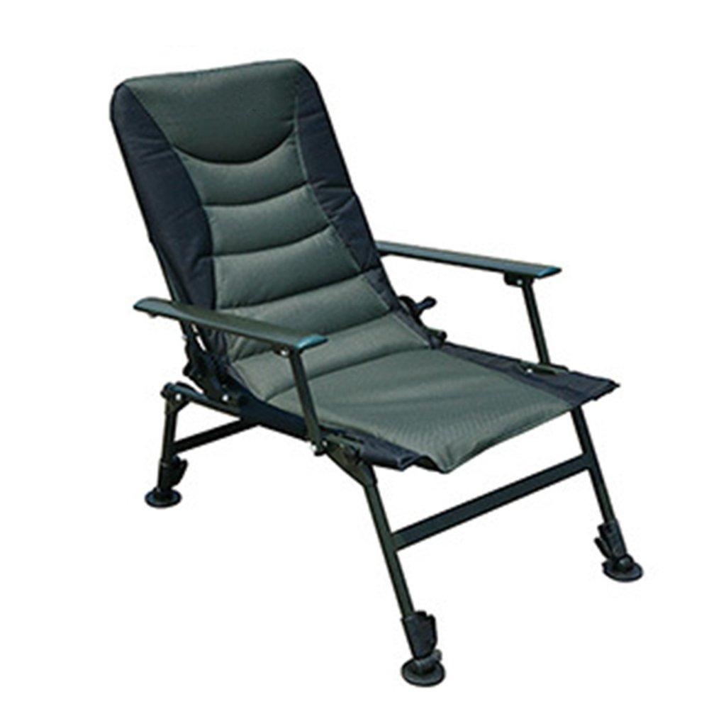 LLRDIAN Outdoor-Klappstuhl Freizeitklappstuhl Wildfischen Klappbar kann der verstellbare Stuhl angehoben und abgesenkt Werden