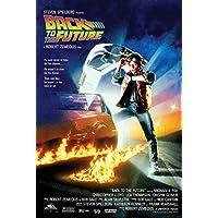 Back to the Future baskı, çok renkli, 61 x 91,5 cm