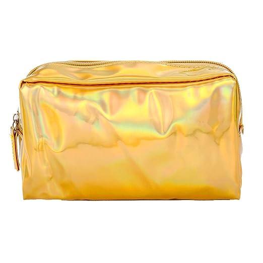 a89440d4cb06 KFSO Pencil Case,Laser Stationery Pen Pencil Box Zipper Cosmetic Bag High  Capacity Travel Makeup Bag