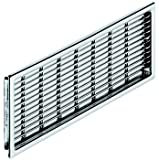 Air Ventilation Grill, Ventilation Area cm²: 42.24, (9 1/16'') 230 Chrome Plated