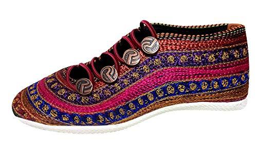 Apratim Syntheic Woman/Girl Fashion Shoe Multicolour Size – 37.5 EU