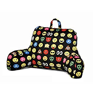 Amazon Com Backrest Cushion Back Support Pillow Emoji Bed
