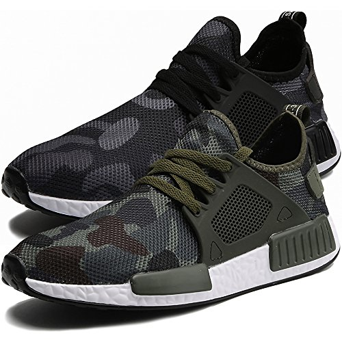 Star Style Comfort Soft Jacky's Shoes Men Canvas Super Walking Casual Driving Camouflage ggXqf7w