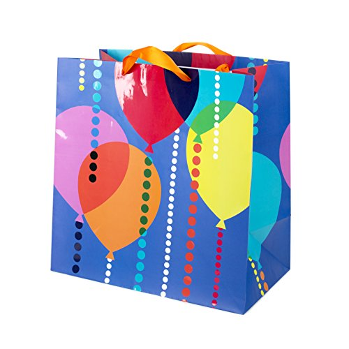 (Hallmark Extra Large Gift Bag for Birthdays, Graduations, Retirements, Anniversaries and More (Balloons))