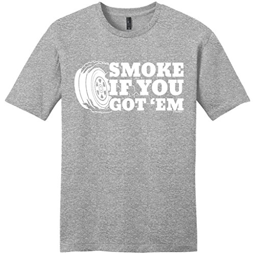 Car Lover Racing Gift Smoke if you Got 'Em Young Mens T-Shirt Medium LtHtr (Smoke Jumper Die Cast compare prices)