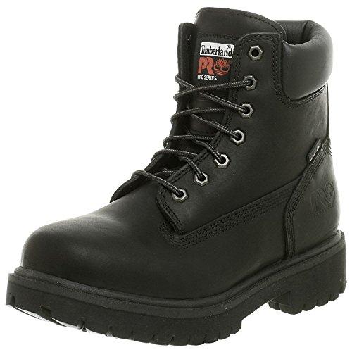 Timberland PRO Mens Direct Attach Six-Inch Soft-Toe Boot, Black, 45 2E EU/10.5 2E UK