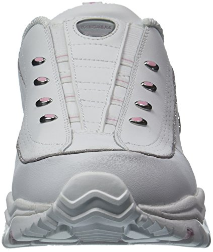 cheap sale cost Skechers Women's Premium-Latest Craze Sneaker White/Pink clearance best place free shipping Inexpensive cheap sale many kinds of mJruxpiWU8