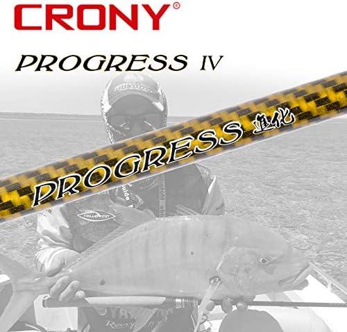 CRONY Progreso Pros Ⅲ Serie (2 Unidades, Spinning caña de Pescar ...