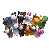Best Usstore 12 Month Old Toys - Usstore Kid children Baby Christmas Gift 12Pcs Finger Review