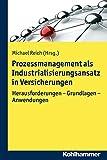 Prozessmanagement Als Industrialisierungsansatz in Versicherungen : Herausforderungen - Grundlagen - Anwendungen, Reich, Michael, 3170229966