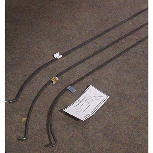 Eckler's Premier Quality Products 57-246647 Chevy Headliner Wire Bows, Bel Air 2-Door Hardtop,