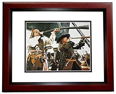 Johnny Depp Signed Autographed Pirates Of The Caribbean 11x14 Inch