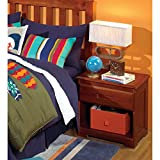 Cambridge 1-Drawer in Merlot Children's Nightstands