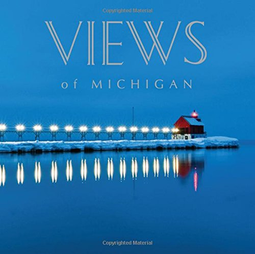"""A fascinating collection of Michigan """"views,"""" Views of Michigan gives readers a glimpse into the beauty of Michigan seen through the camera lenses of local photographers. Compiled to promote Michigan and local photography, Views of Michigan features ..."""
